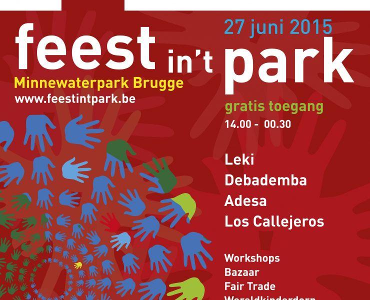 Feest int Park Brugge