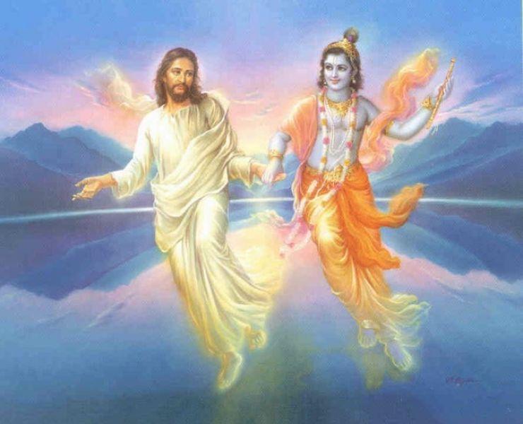 Krishna, Jezus, Boeddha en Akhbar - Inleiding op de wereldgodsdiensten in India