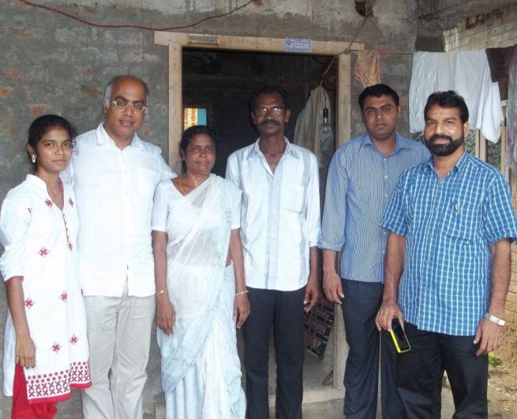 Prakash op bezoek in Eluru