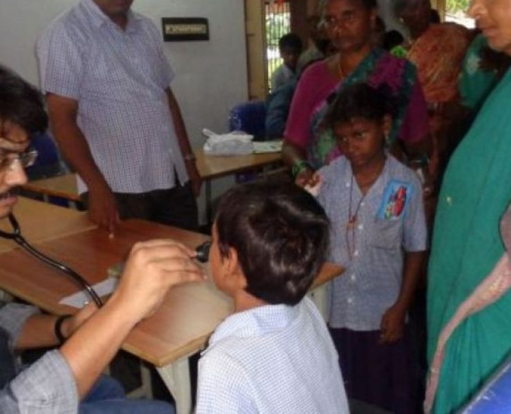 Medische kamp Kothuru
