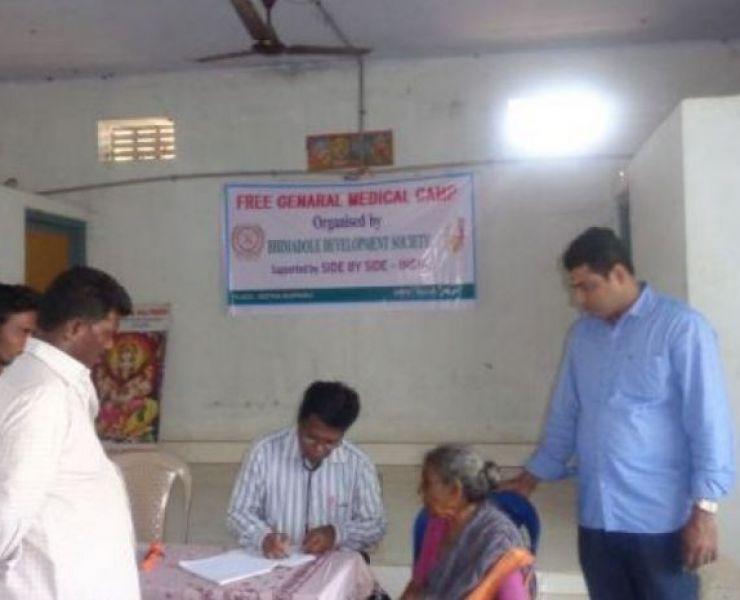 Medische kamp Kothamupparu