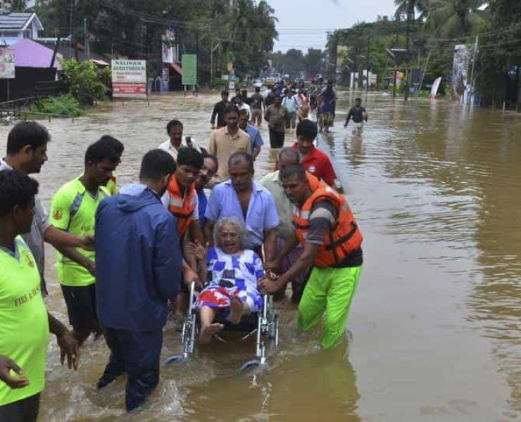 NOODHULP AAN SLACHTOFFERS VAN DE WATERSNOOD IN KERALA – EEN UPDATE